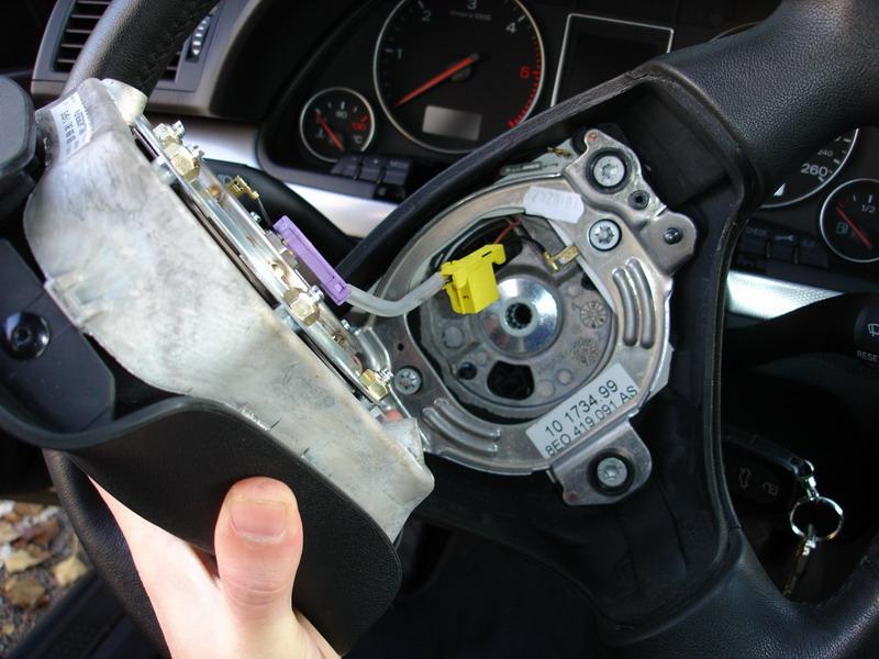 [diy] substituir volante B6 por multifunções TT novo modelo Post-96-1166901267