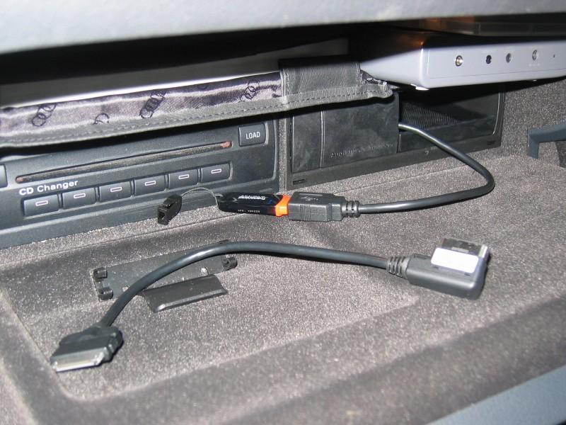 Cargador Mp3 Audi A6 Allroad C6 2005 2011