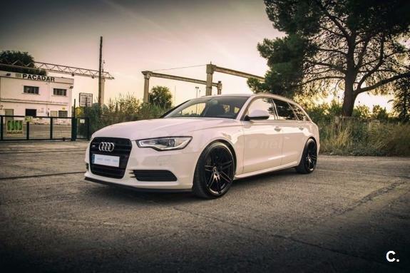 Vendo 2013 Audi A6 Avant 3 0 Tdi V6 Blanco 29900 Veh 237 Culos Audisport Iberica