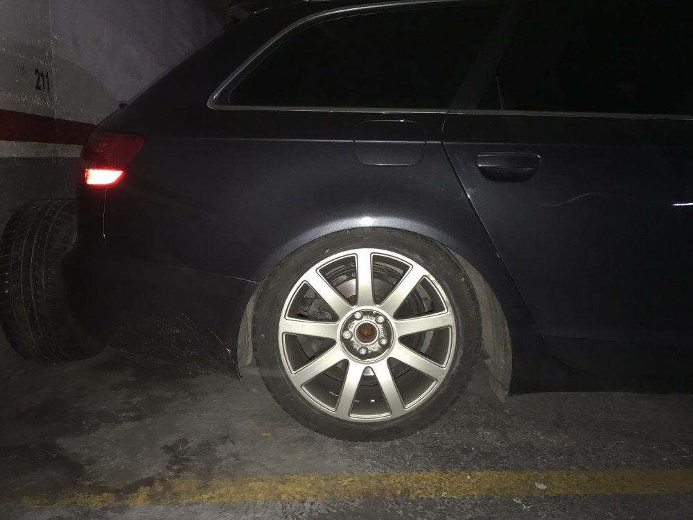 Placement on Vehicle : Front Left WHWEI/® Suspensi/ón de Aire de Primavera Columna de Amortiguador for Audi A6 Allroad Quattro de Audi C5 4Z7616051B 4Z7616051D 4Z7616051A 4Z7616052A