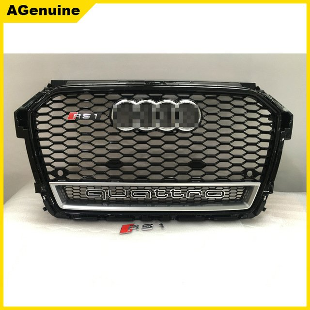 2016-Glossy-black-frame-RS1-quattro-facelift-grill-RS1-honeycomb-mesh-grille-front-bumper-radiator-grills.jpg_640x640.jpg