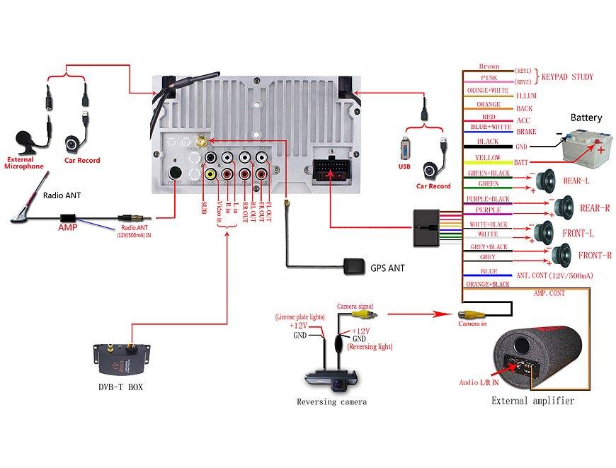 Duda Cables Nueva Radio 1 Din - Electricidad Audi A4 B6  B7