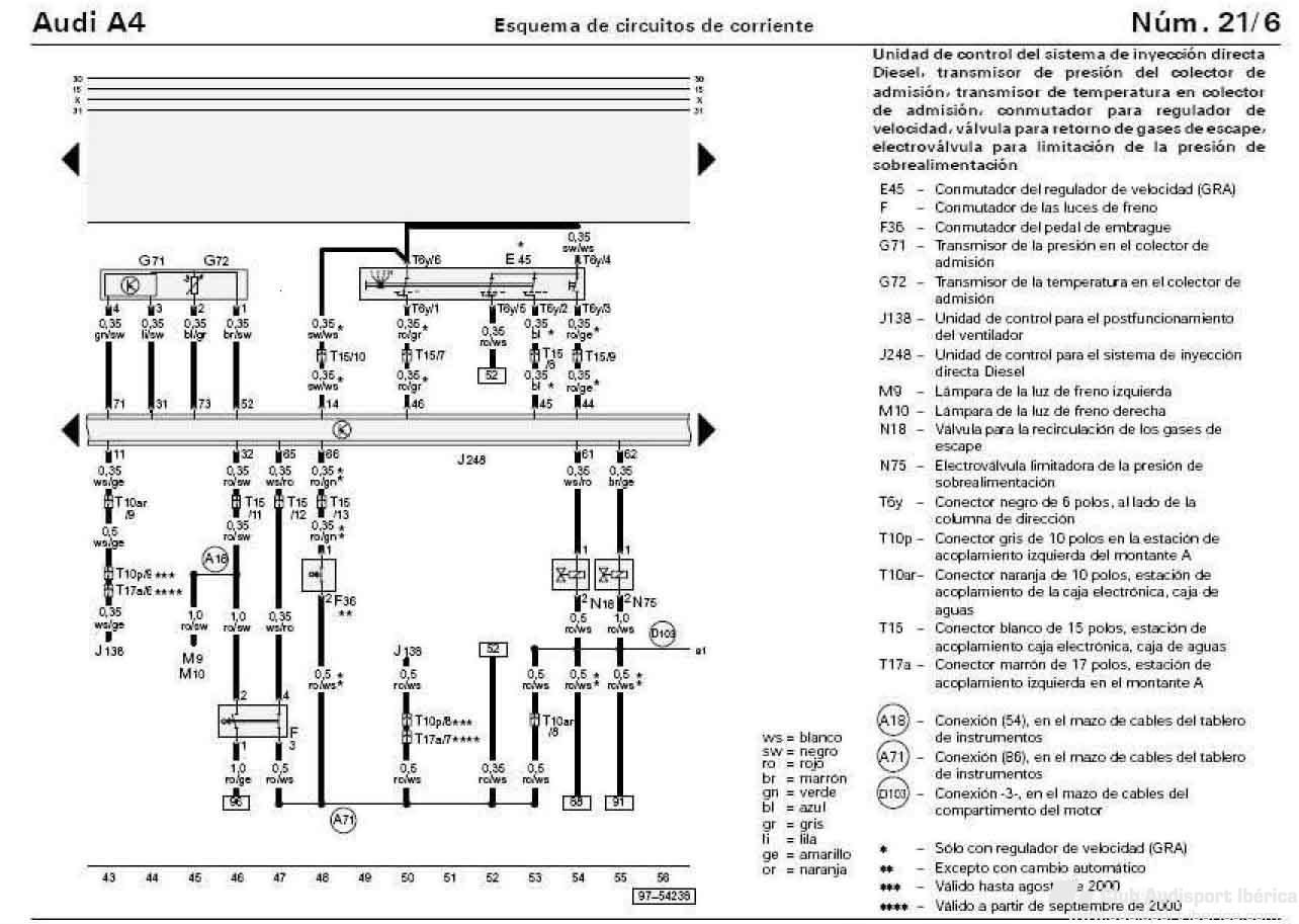 tempomat sin maneta - p u00e1gina 3 - audi a4 b5  1995-2001
