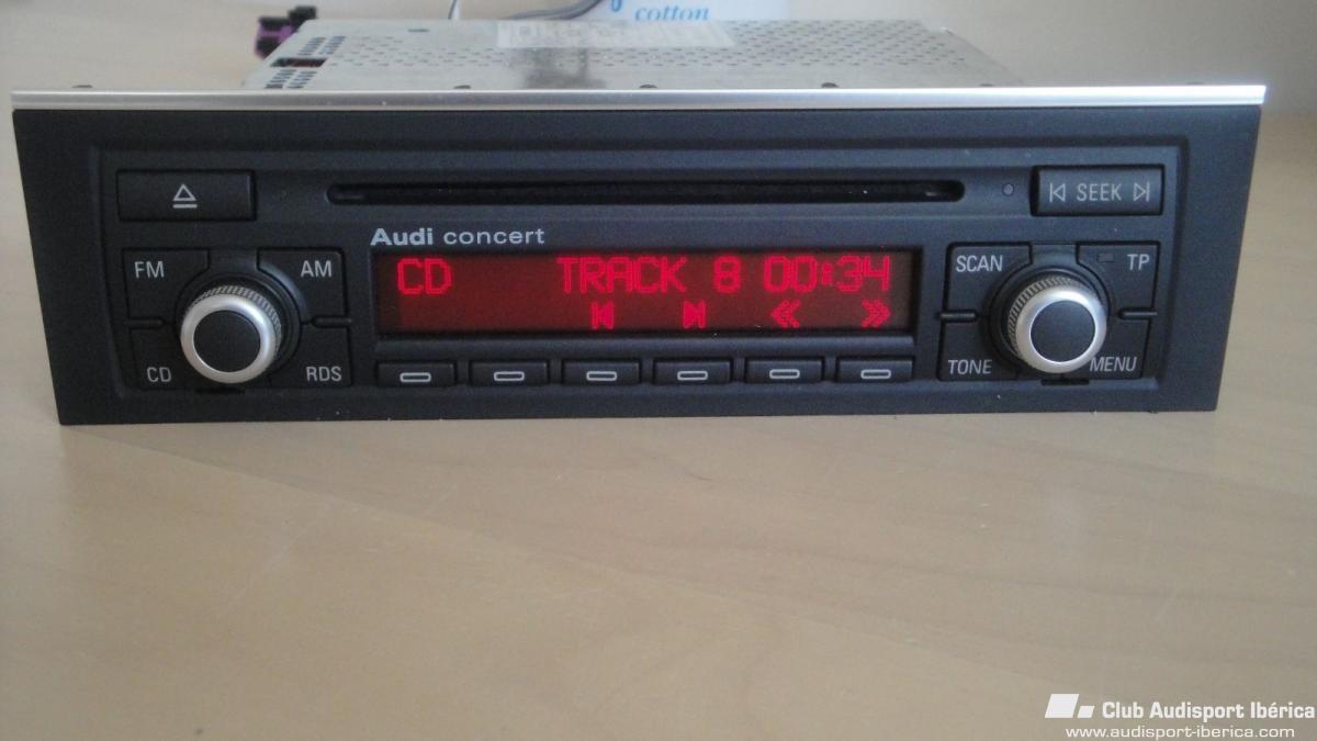 radio cd audi concert accesorios audisport iberica manual instrucciones audi a4 b9 manual instrucciones audi a4 2.0 tdi