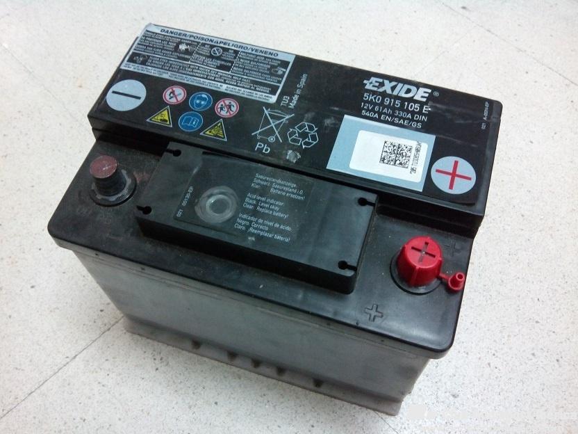 Vendo] - Batería 61Ah 330A DIN - 5K0 915 105 E - Madrid - 36