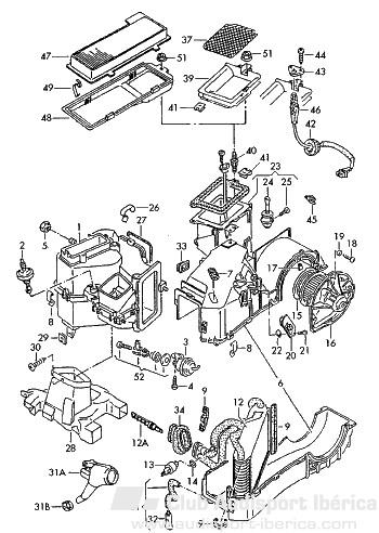 cambiar radiador de la calefaccion