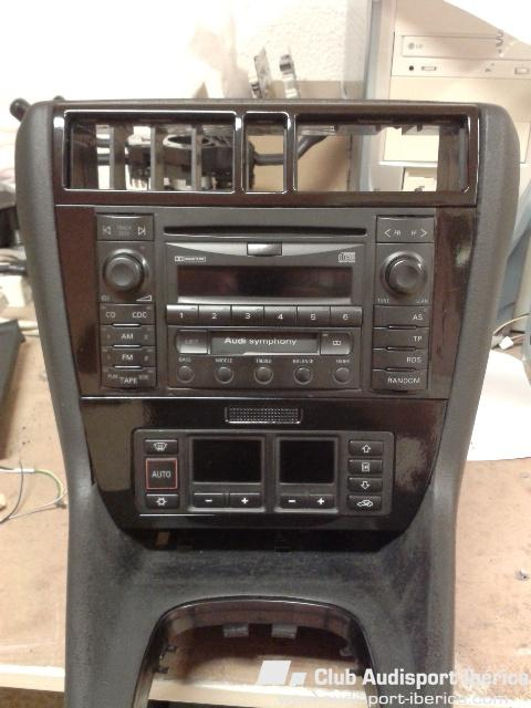 brico adaptar 2 din a mueble pre audi a4 b5 1995 2001