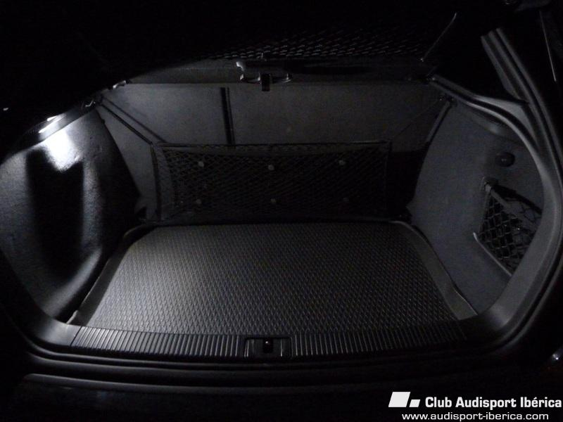 Audi MALETERO LED Audisport LUZ A3 Electricidad 8P Iberica Ok8wPNn0XZ